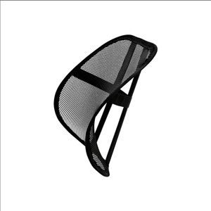 Black Mesh Back Support for Office Chair